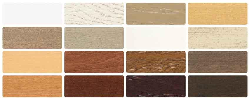 スタンダードウッド(木製)ブラインド カラー