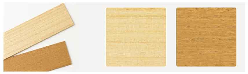 桐のウッド(木製)ブラインド カラー