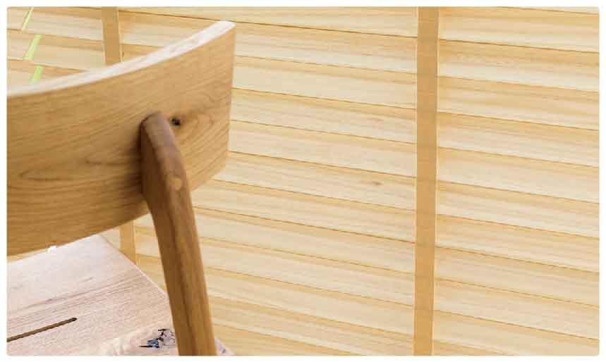 ナチュラルな癒しの無垢ウッド(木製)ブラインド