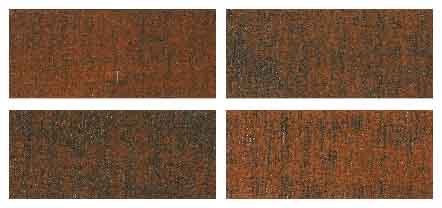 ヴィンテージウッド(木製)ブラインド 羽根の加工