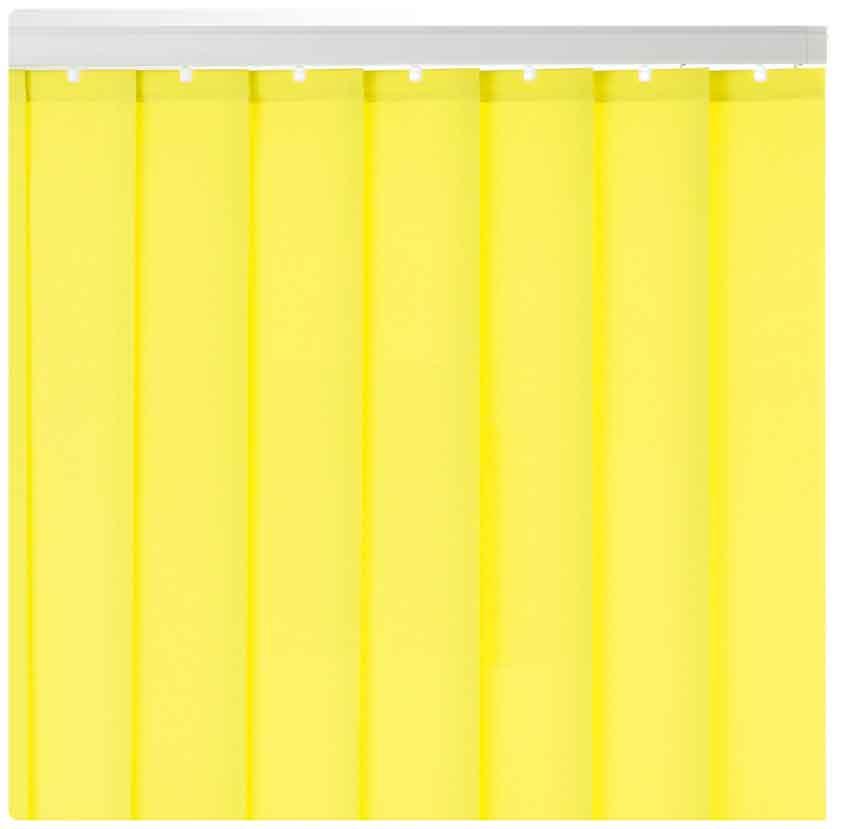 格安 縦型バーチカルブラインド 黄色