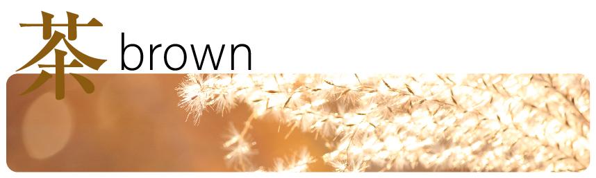 茶色・ブラウンの心理効果(インテリア)